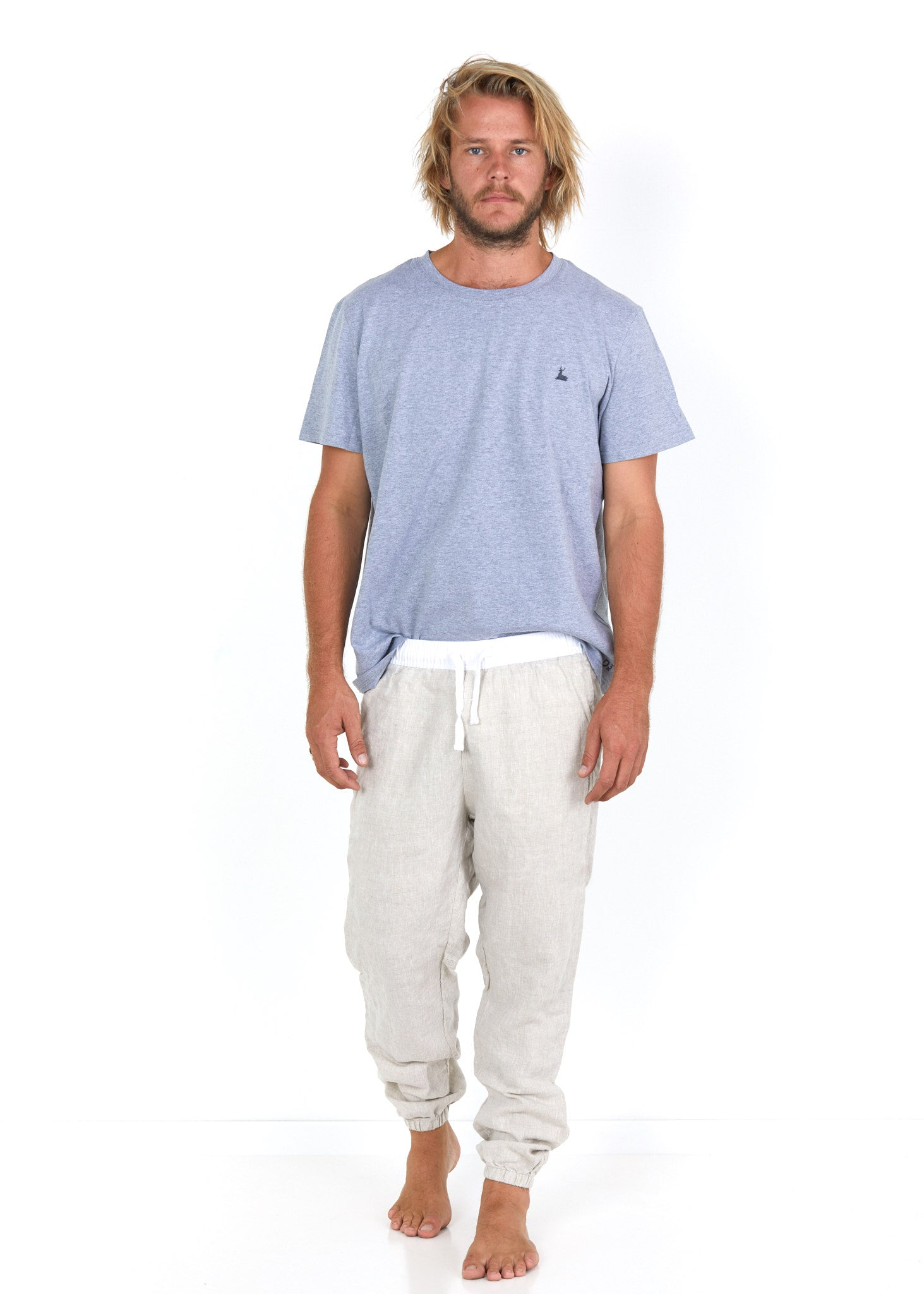 Natural Joggers Front