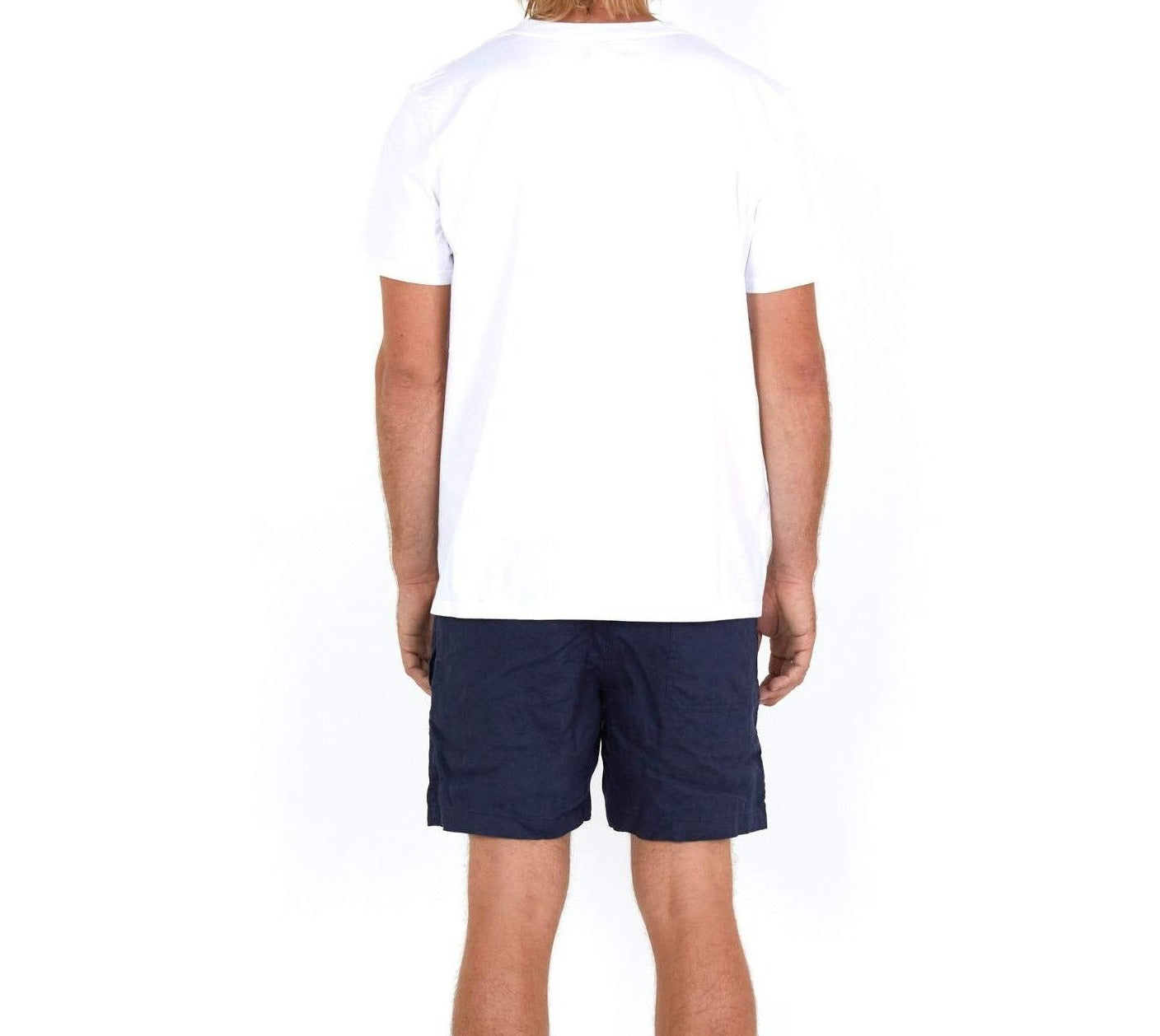 Cotton T-Shirt White - Back