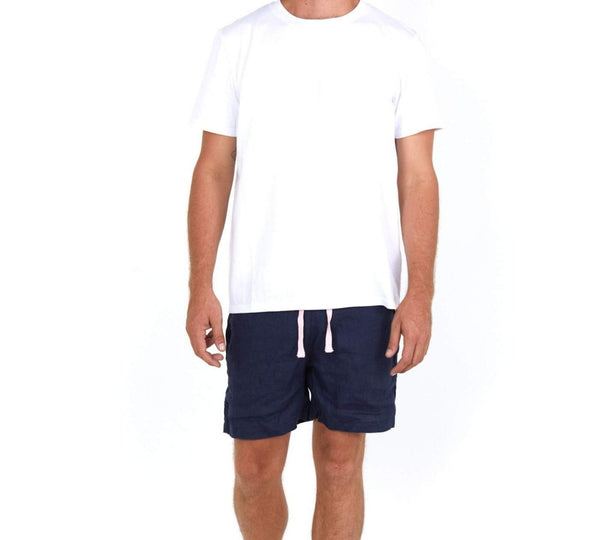 Cotton T-Shirt White - Front