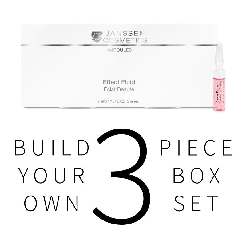 Build Your Own Ampoules Box 3 PIECE