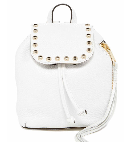 Rebecca Minkoff White Leather Backpack