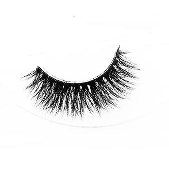 2 CUTE-3D MINK STRIP LASHES - QueensLyfe Cosmetics
