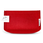 Louis Vuitton Speedy 40 red LV Purse Organizer 3mm Felt by AlgorithmBags