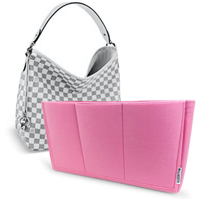 louis vuitton delightful mm diamier azur pink lv purse organizer insert by AlgorithmBags