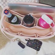 AlgorithmBags neverfull lv purse organizer rose ballerine