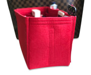 AlgorithmBags LV Purse Organizer for Neverfull damier ebene GM Diaper Bag Red Tote