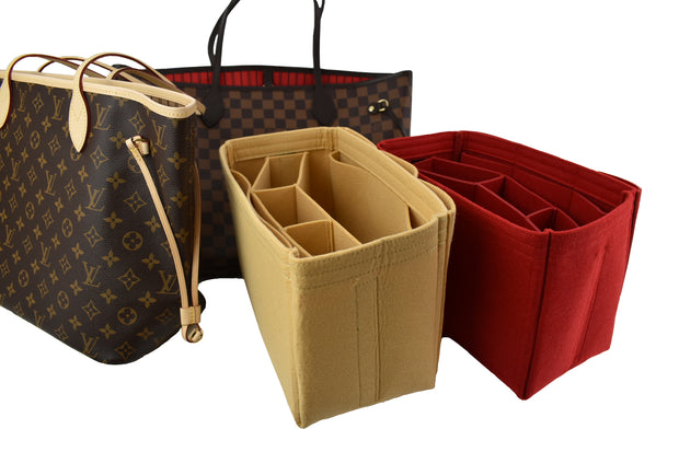 Purse Organizer Insert for Louis Vuitton Neverfull GM Red by AlgorithmBags