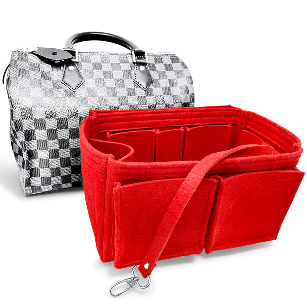 Algorithmbags speedy 40 purse organizer cherry red lv louis vuitton