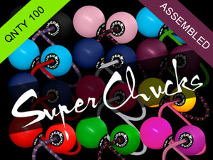Dealer's Pack - 100 Assorted Super Chucks