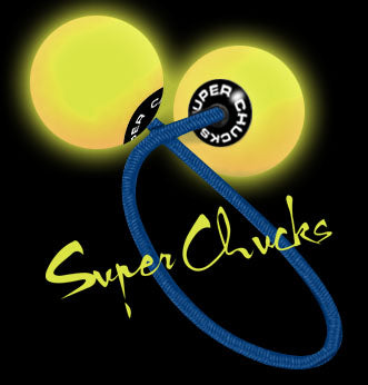 "Super Chucks ""GLOWIES"" - Neon Yellow"