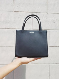 Petite Shopper Bag - Black Ink