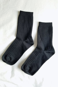 Her Socks (MC cotton) - True Black