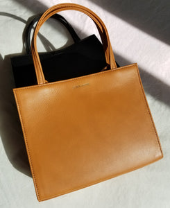 Petite Shopper Bag - Caramel