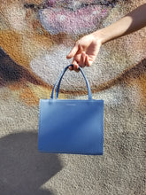 Petite Shopper Bag - French Blue