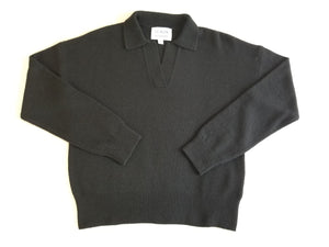Nanette Sweater Top - Ebony