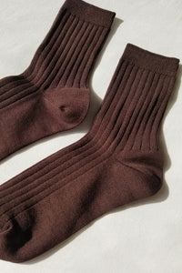 Her Socks (MC cotton) - Coffee