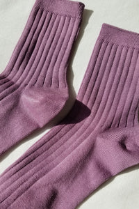 Her Socks (MC cotton) - Orchid