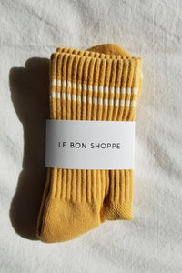 Boyfriend Socks - Butter