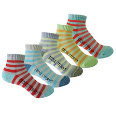 5Pack Women's Light Cushion Mini Hiking/Performance/Trail Socks