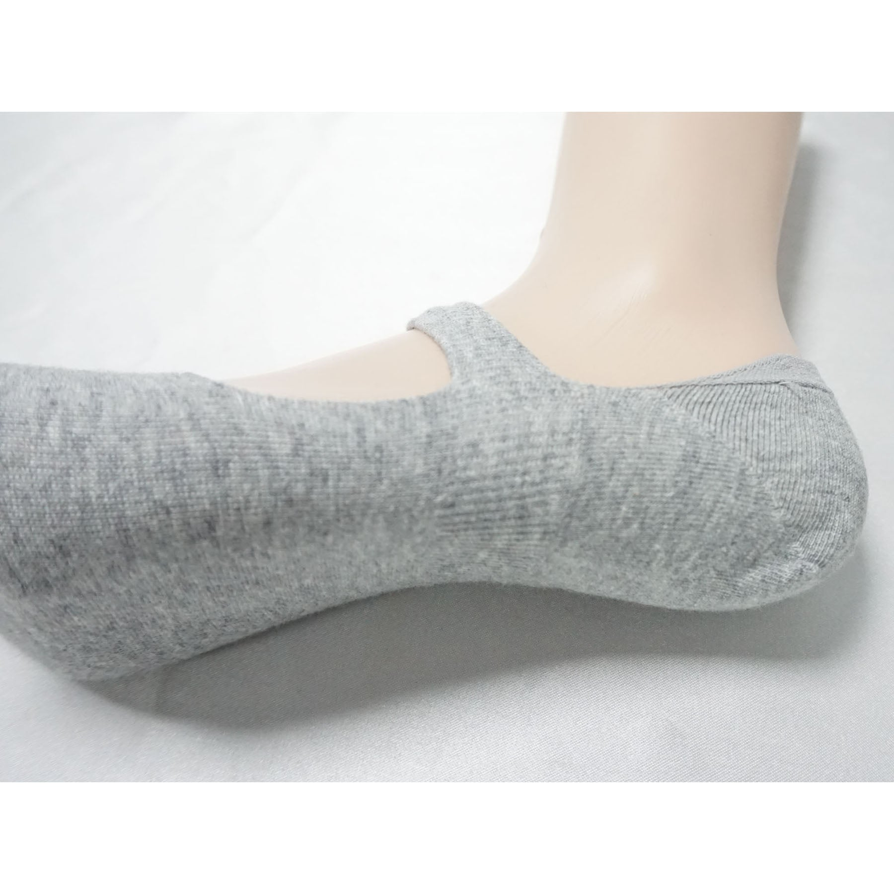 Women's Low Cut No Show Cotton Socks with Strap Casual Socks for Flat Boat line