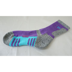 5Pack Women's DryCool Cushion Performance/Hiking/Trail Micro Crew Socks