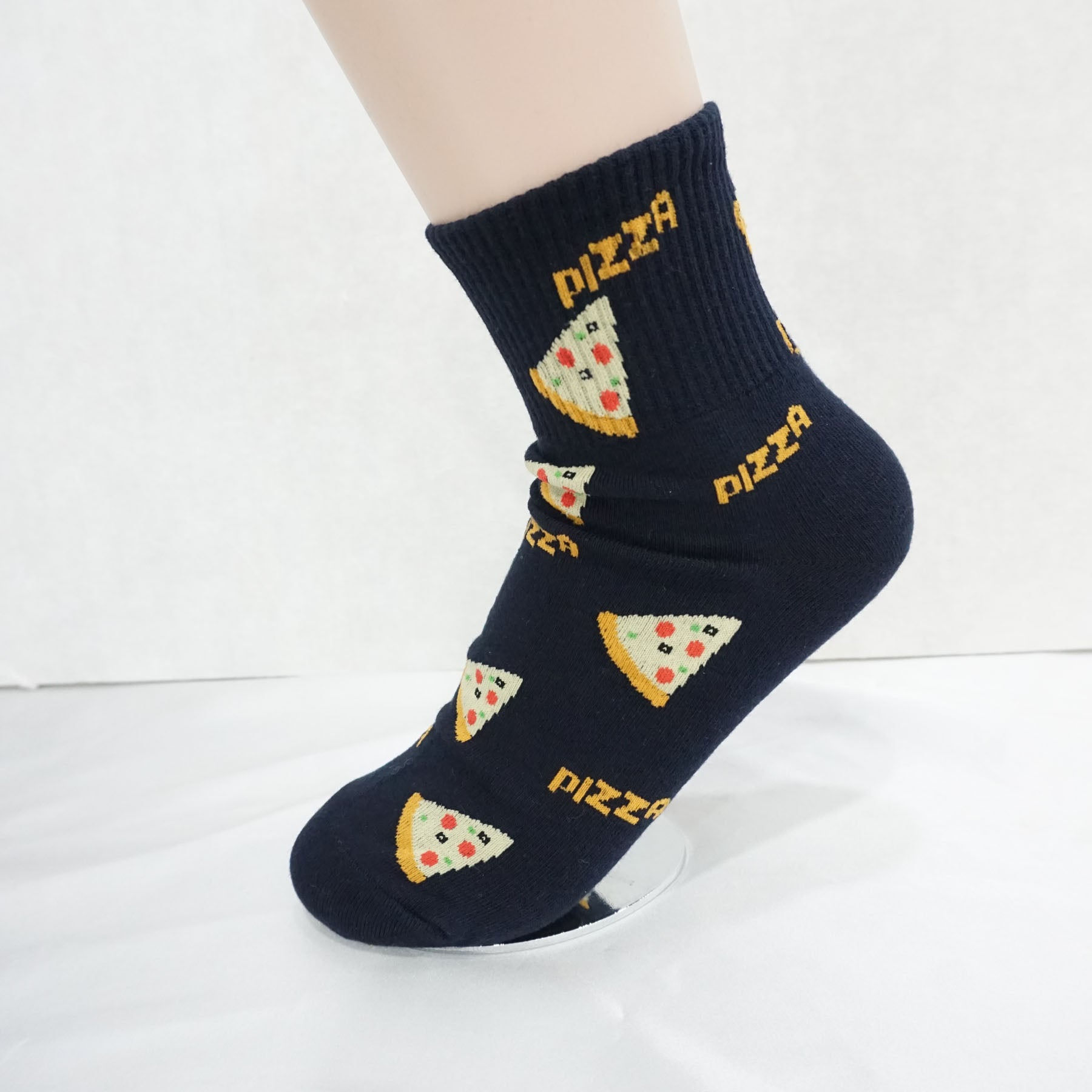 5Pairs Women's Cotton Food Name Fun Novelty Socks