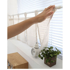 Light Weight Simple Kitchen Cafe Curtain Tab Top Valance