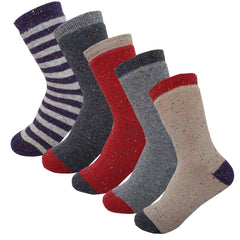 5Pack Women's Winter Thermal Fleece Lined Socks