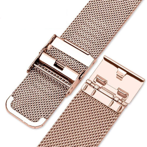 Watch Straps - Stainless Steel Milanese