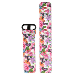 Fitbit_Charge_3_and_Charge_4_Pattern_Silicone_Straps_NZ_Black_Colourful_Flowers_and_Butterflies_SE8G8Q9BO54Q.jpg