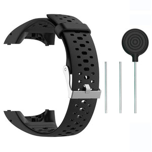Replacement Silicone Sports Straps compatible with the Polar M400 & M430