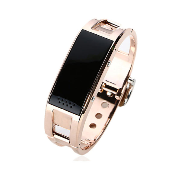 Big Screen Rose Gold Calorie Pedometer