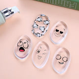 Silicone Beauty Blender Cartoon Faces
