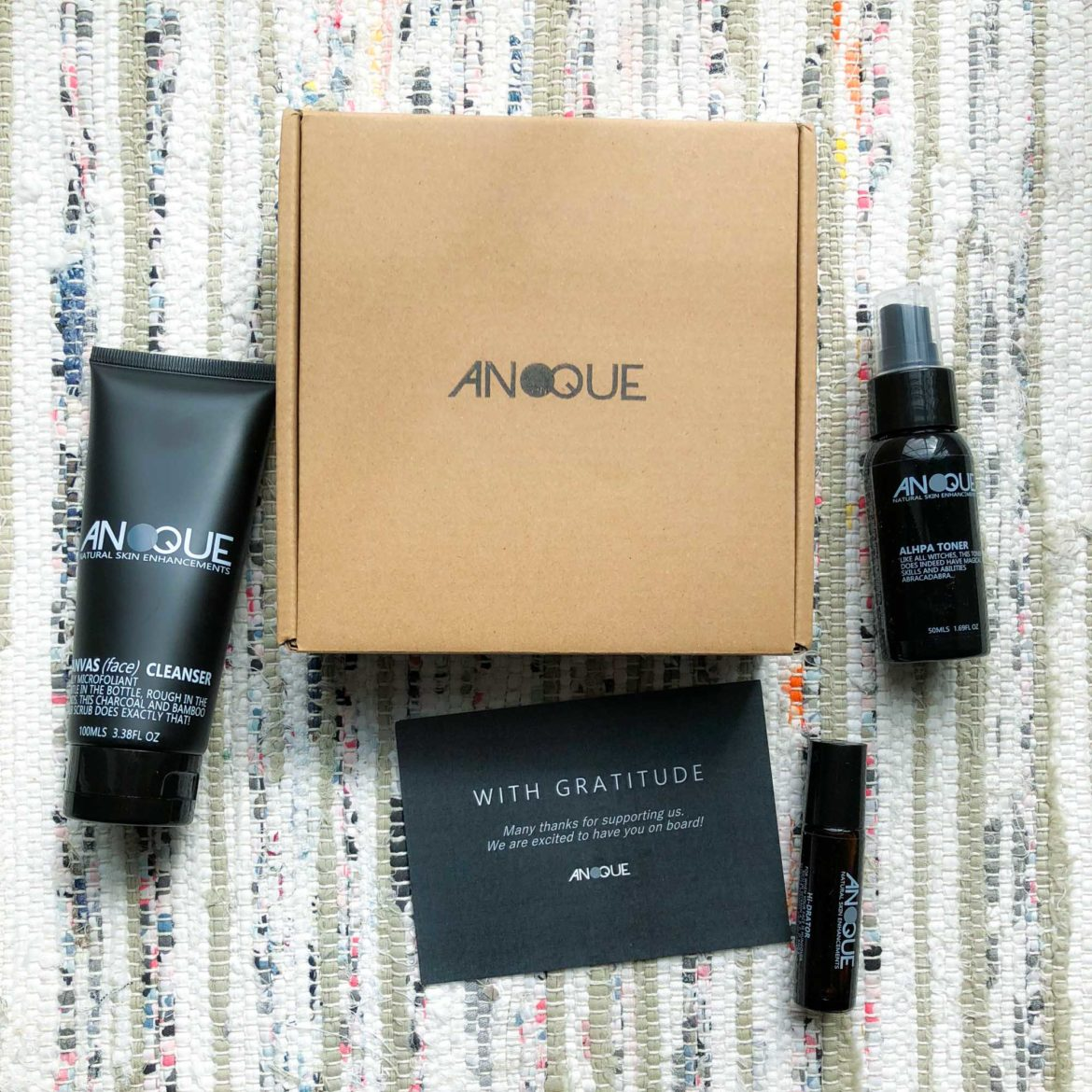 Anoque Men's Skincare Kit Review