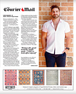 Chris Baradel & Anoque In Brisbane News - The best men's skin care and grooming products