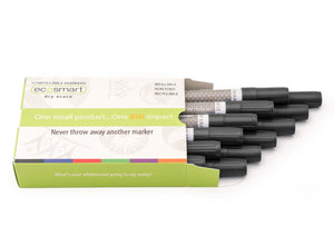 12-PACK BLACK MARKERS