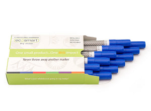 12-PACK BLUE MARKERS