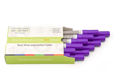 12-PACK PURPLE MARKERS
