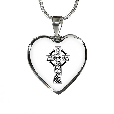 Celtic Cross Pendant Necklace