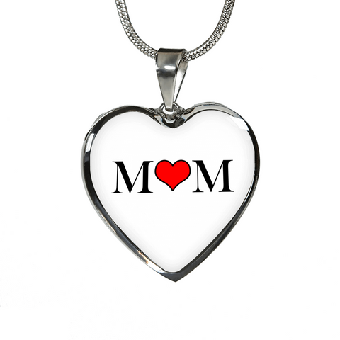 Mom Pendant Necklace - Unique Beautiful Quality Necklace for Mom