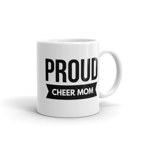 Proud Cheer Mom Unique Coffee and Tea Mug