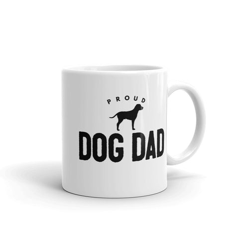 Proud Dog Dad Unique Coffee Mug