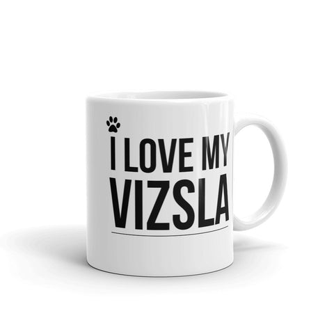 I Love My Vizsla Coffee Mug