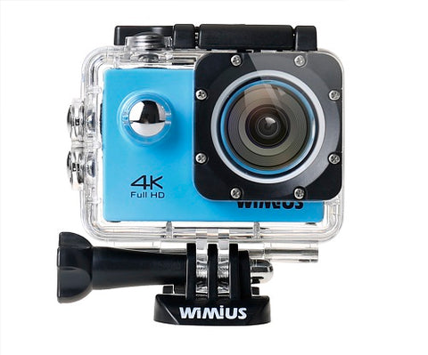 Sports Action 4K WiFi Waterproof Camera - Mini Full HD 1080P 60fps Cam Video