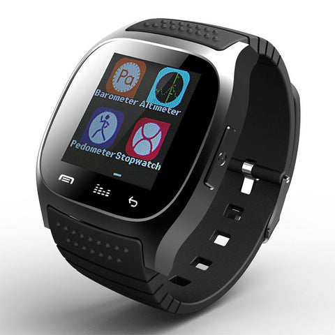 Trendy Style Bluetooth Smart Watch with LED Display for Android and IOS
