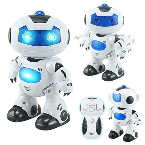 Intelligent Remote Controlled RC Musical Dancing Robot