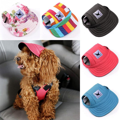 Canvas Cutie Dog Hat - Fashion Cap