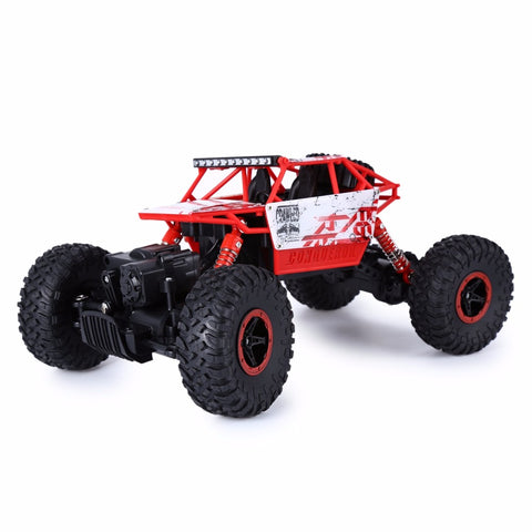 RC Rock Crawler Car 2.4G 4CH 4WD 4x4 Bigfoot Remote Control Model Off-Road Vehicle