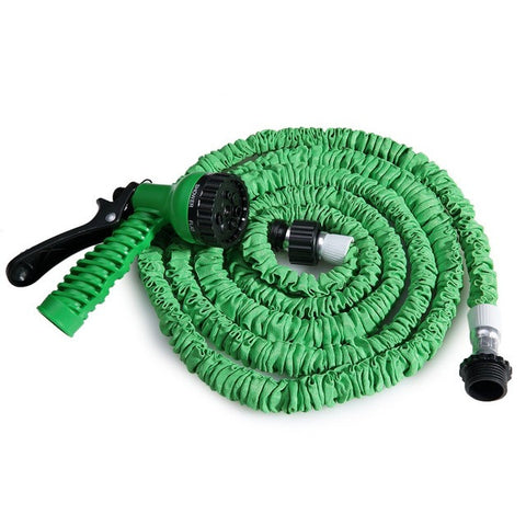 Expandable Flexible Water Garden Hose with Spray Head