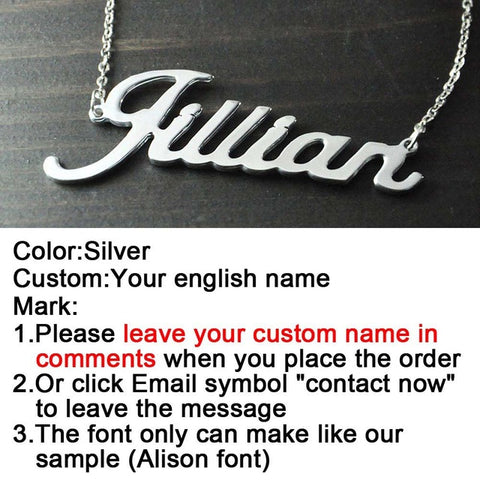 Personalized Name Necklace - Great Unique Gift